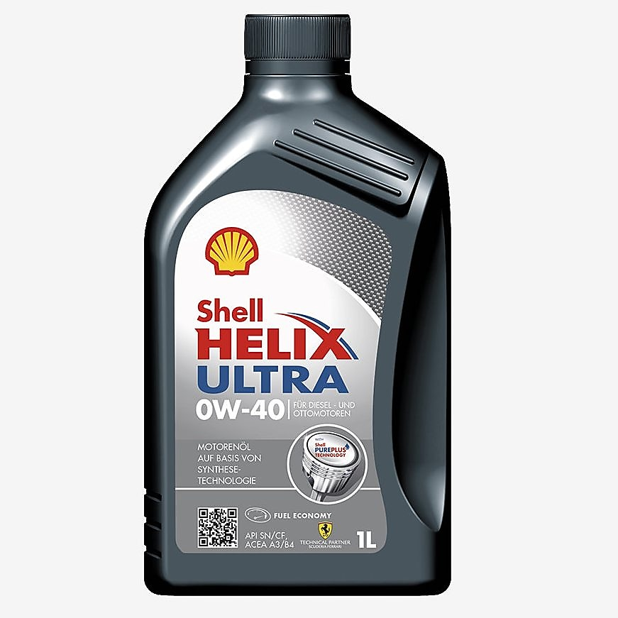 Verpackungsfoto Shell Helix Ultra 0W-40