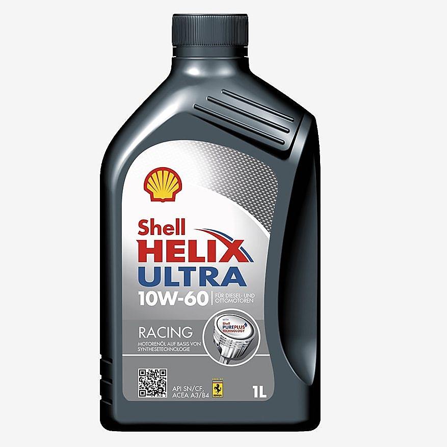 Verpackungsfoto Shell Helix Ultra Racing 10W-60